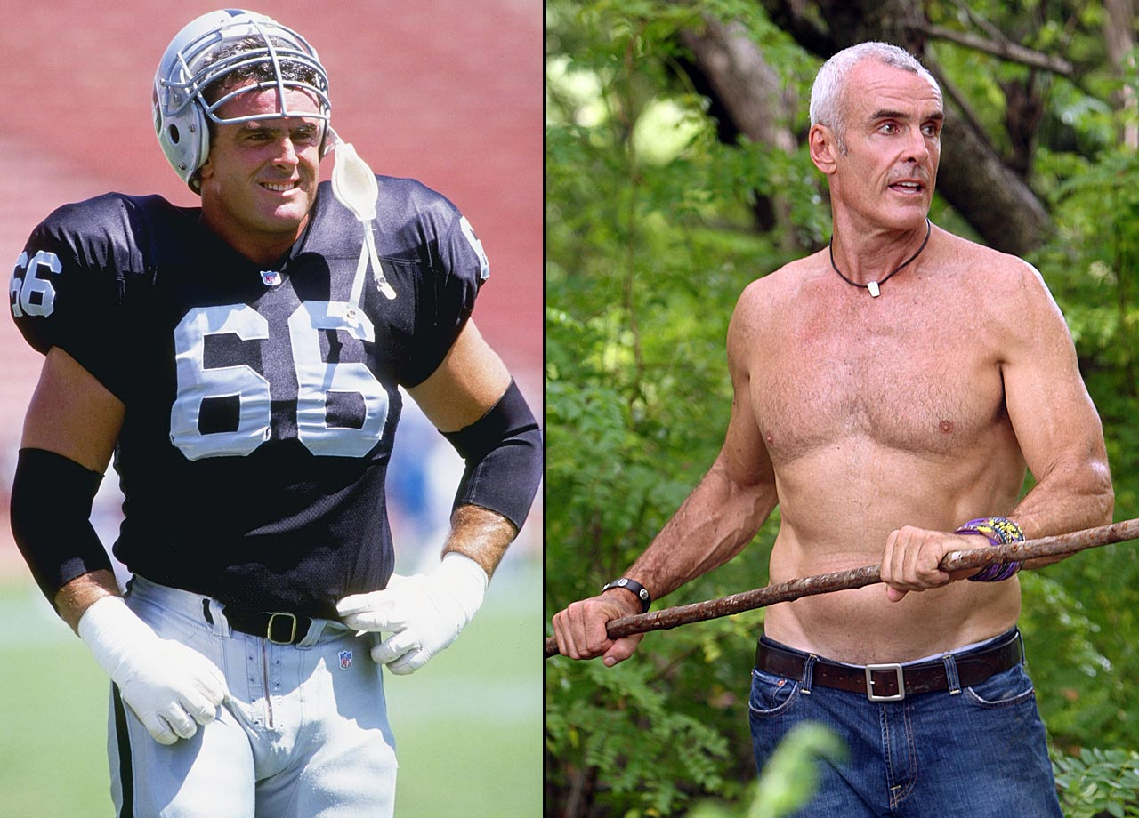 """The retired NFL offensive tackle finished in 10th place on """"Survivor: Redemption Island."""""""