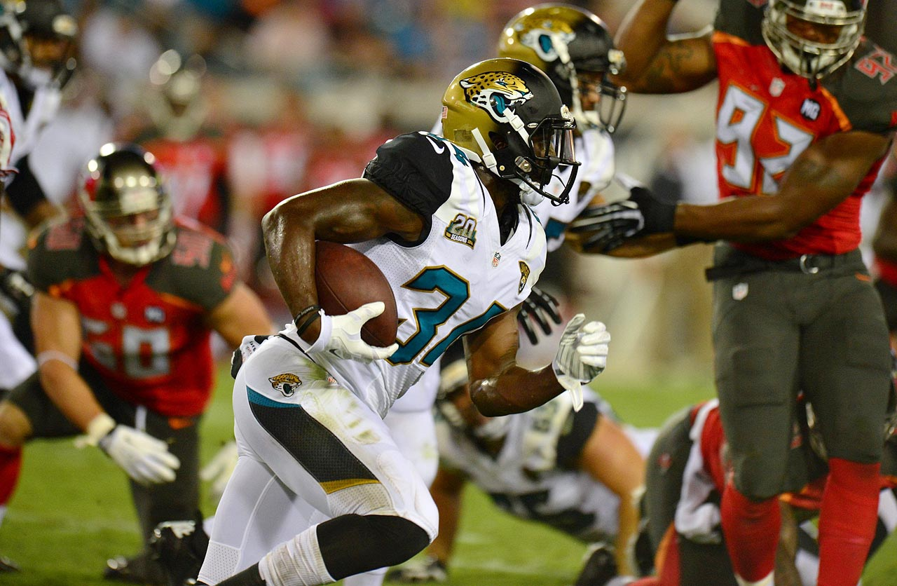 Toby Gerhart is a true three-down back but he had better perform in his first season as a starter, because Johnson will be waiting for his chance. The talented rookie from UCF has the tools to emerge as a capable fantasy option.