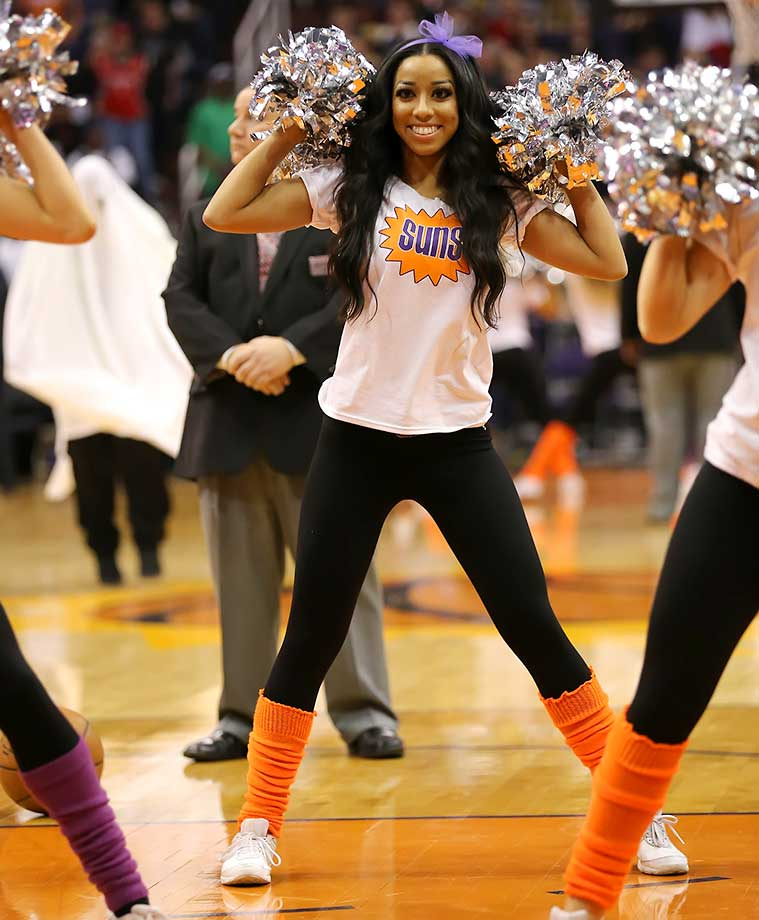 The Phoenix Suns dancers.