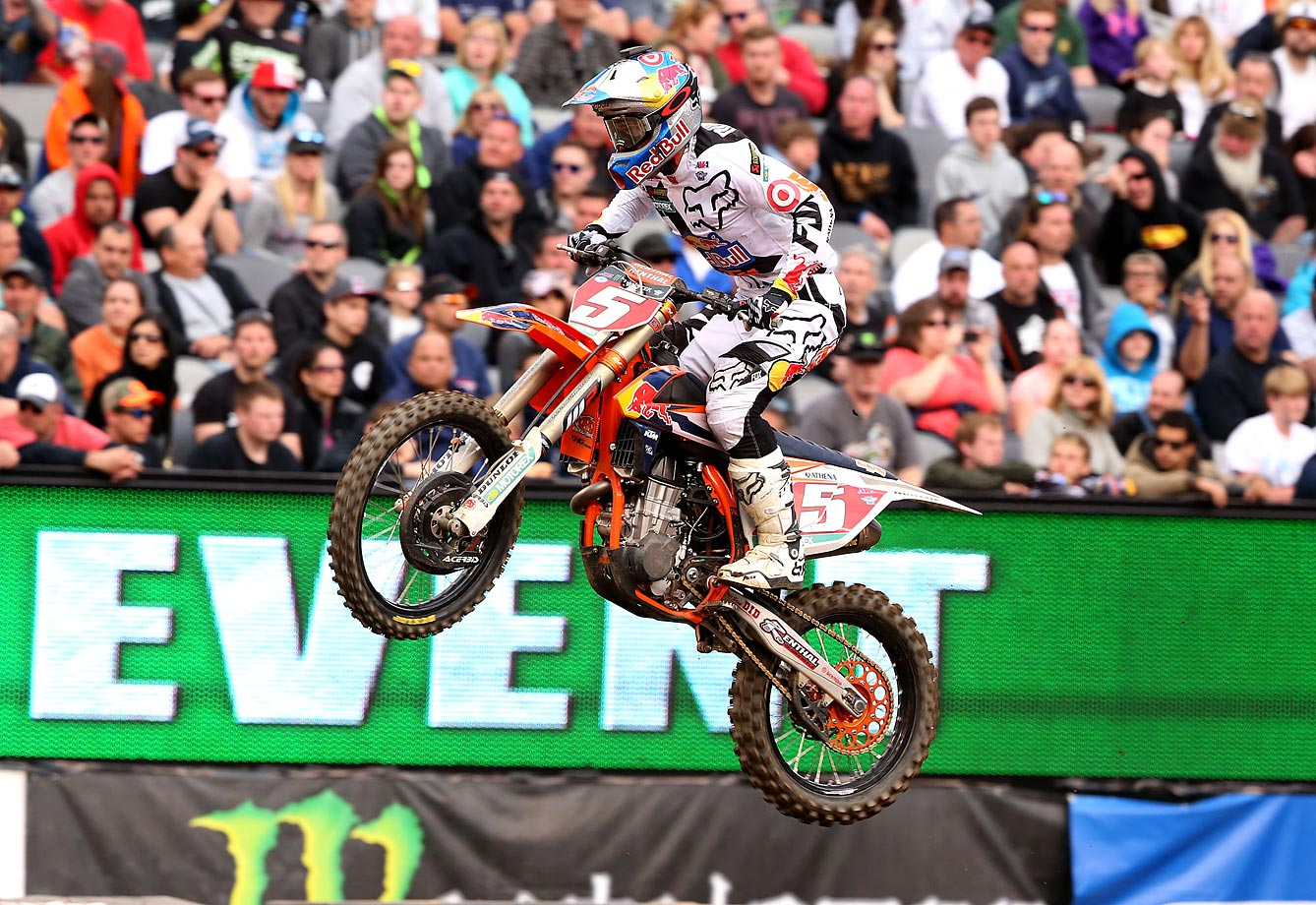 Dungey finished in second place on Saturday.