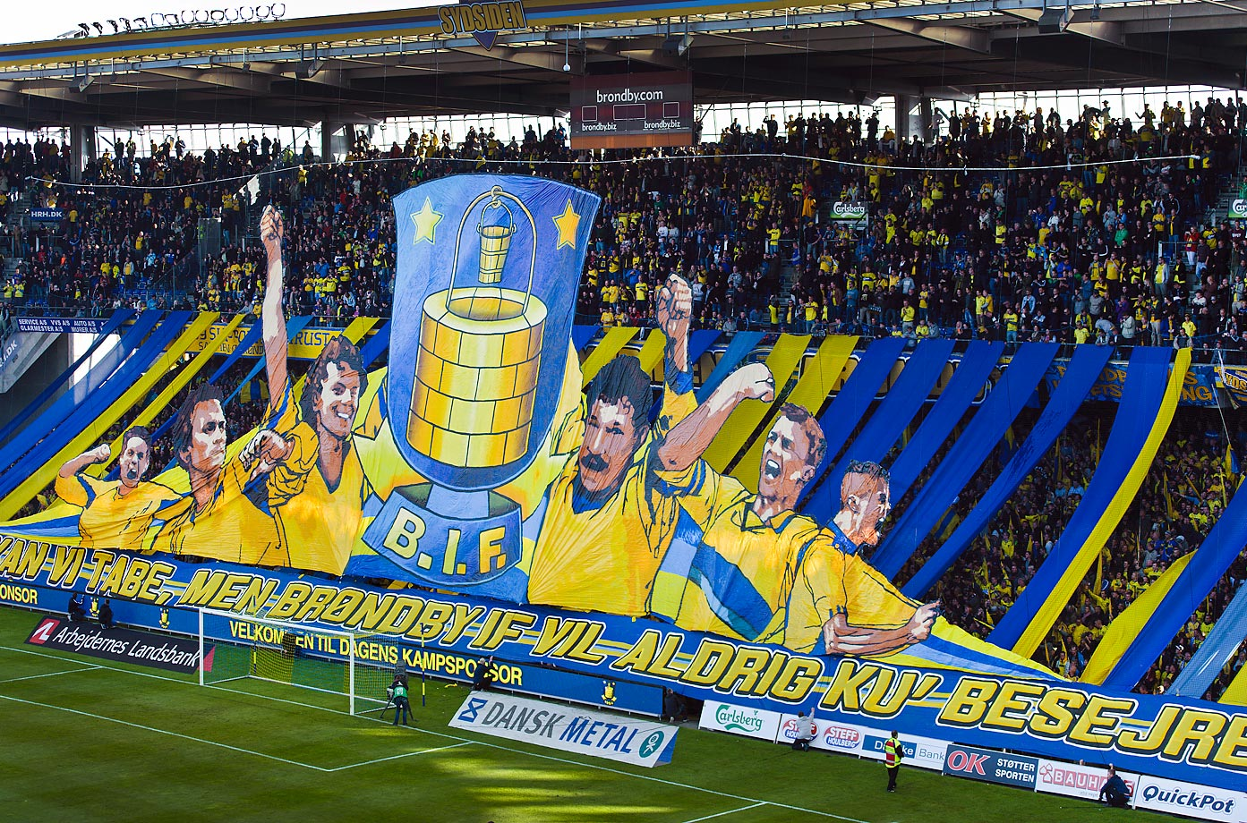 Brondby IF fans.