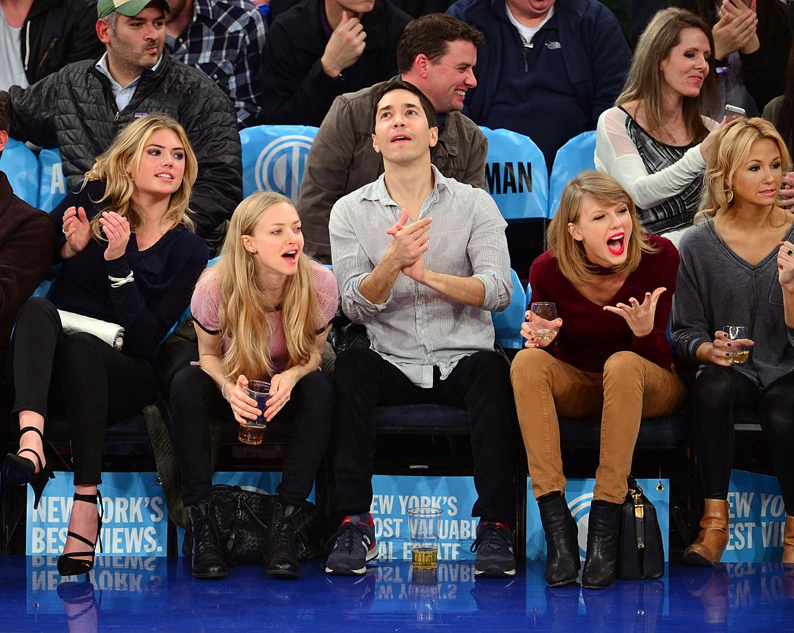 with Justin Long, Amanda Seyfried and Kate Upton