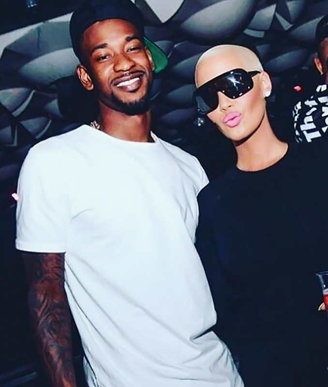"The Toronto Raptors small forward and the model/actress began dating in February 2016. On a Feb. 21 episode of ""Hollywood Medium with Tyler Henry,"" Rose was told by Henry that she would soon meet a man with a ""T"" name."