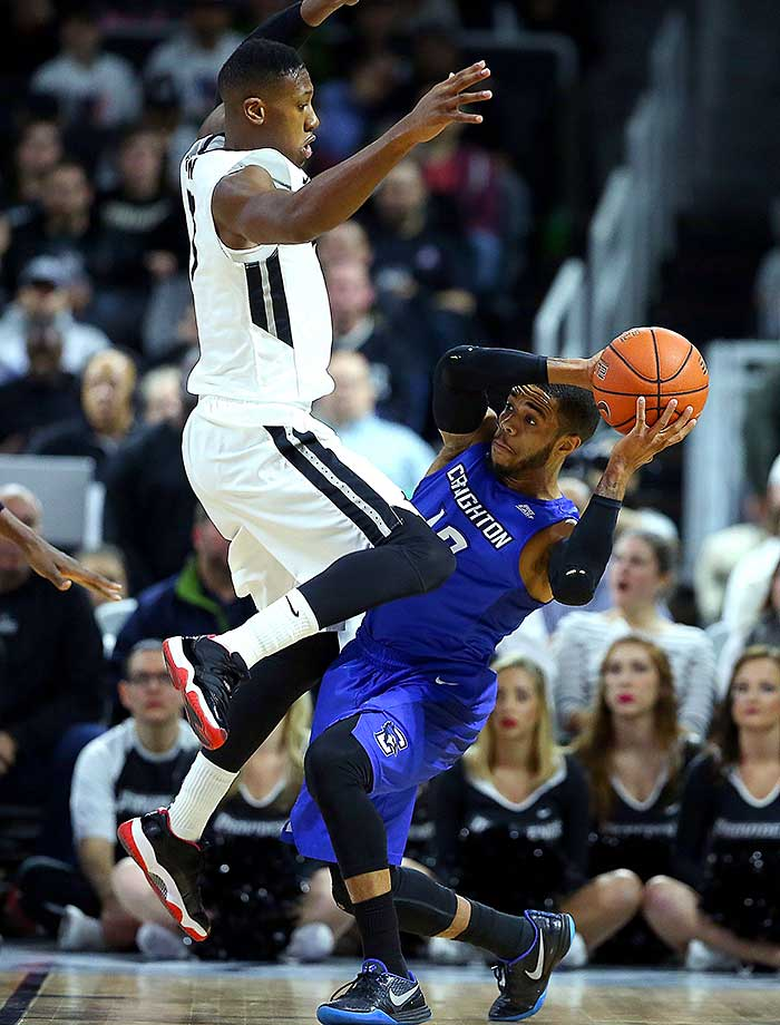 Here are some of the images that caught our eye during the sports night of March 2, starting with Kris Dunn of Providence defending against Maurice Watson Jr. of Creighton.