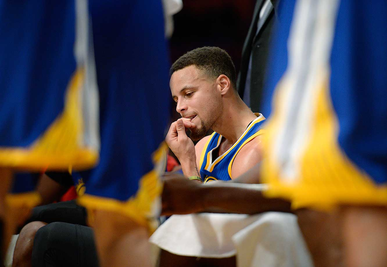 No one expected Sunday's Lakers-Warriors game to be a nail-biter for Steph Curry & Co., but the Warriors losing 112-95 was stunning.