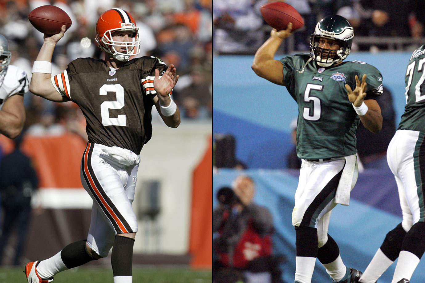 1999: 1—Tim Couch (Cleveland Browns), 2—Donovan McNabb (Philadelphia Eagles)
