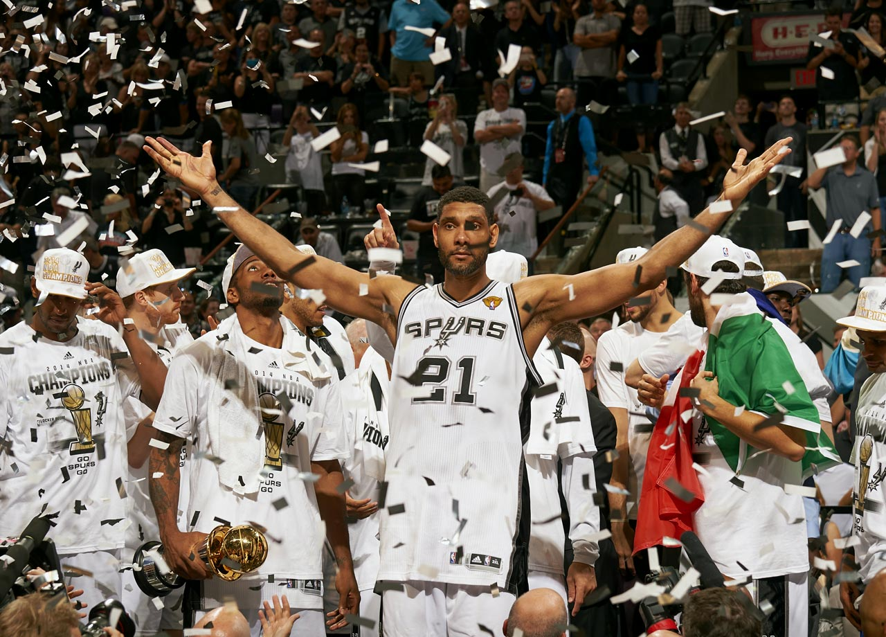 Looking to solidify a dynasty, LeBron James and the Miami Heat were dominated by the San Antonio Spurs, losing the series in five games. Tim Duncan hoisted his fifth championship, cementing his status as the greatest power forward to ever play in the NBA (136,654 tweets per minute at the final buzzer of Game 5).