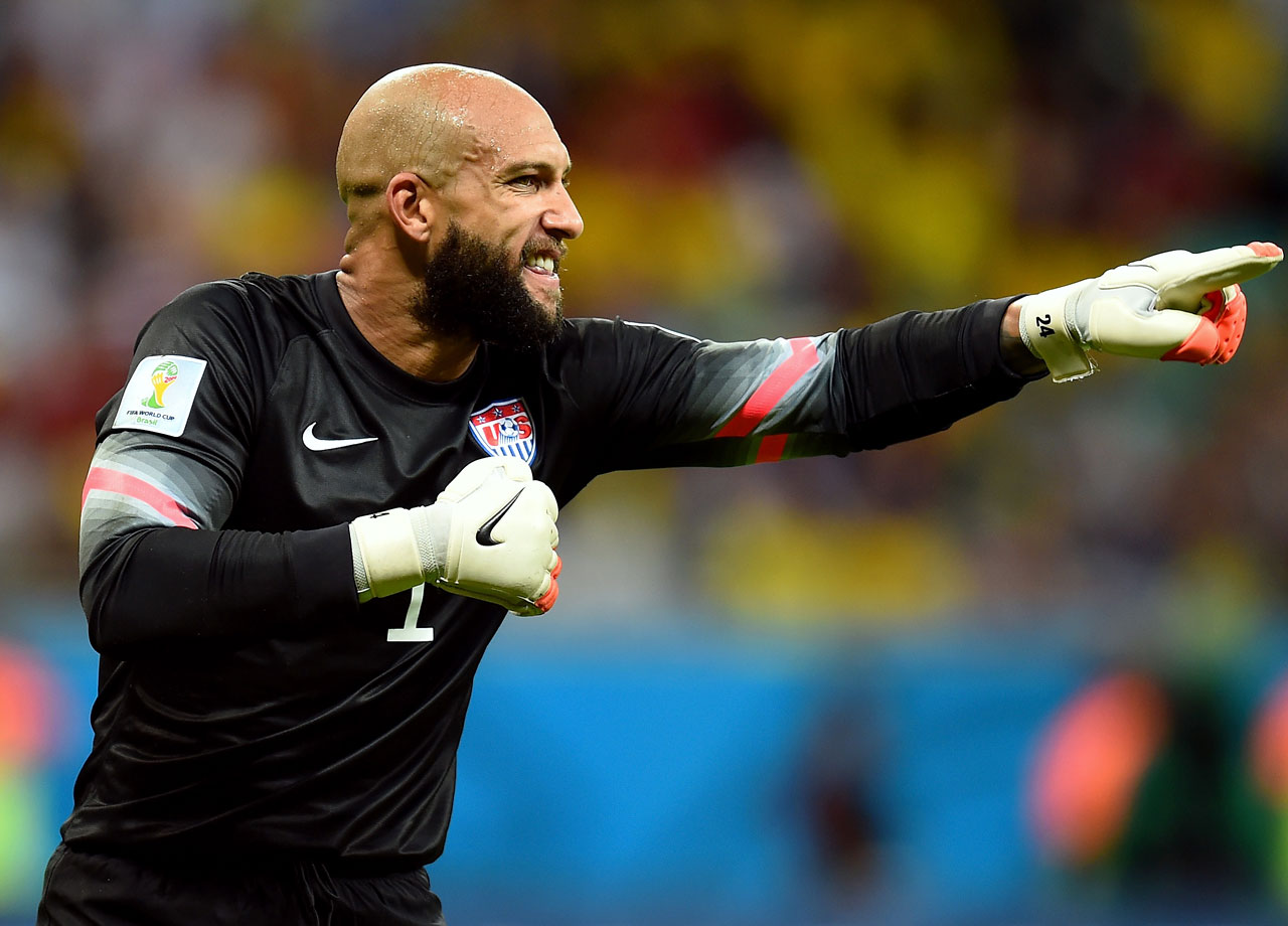 Tim Howard blocks 15 goals, but the U.S. men's team still loses to Belgium 2-1 and is eliminated from the World Cup. Howard, however, becomes one of the most talked-about players of the tournament, with 1,845,345 million tweets mentioning him that day.