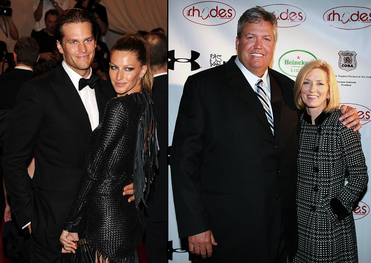 """I never realized how similar that I am to Tom Brady. I mean, the obvious physical appearance would be the first thing. The fact that he's married to a supermodel? Hello?"" — November 2010, after Ryan's wife Michelle appeared in an ad for the NFL.com shop from InStyle magazine"