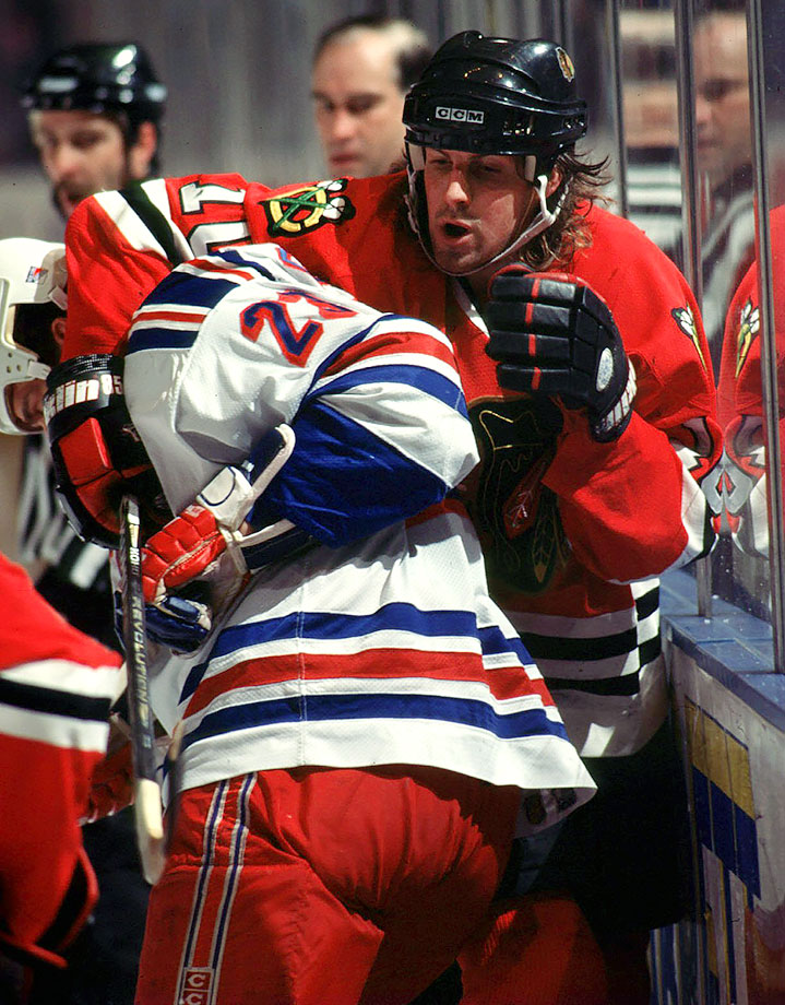 """Tony is a player who has flash and dash to him, but you can snuff him out,"" Neil Smith said after trading the two-time 30-goal winger to the Blackhawks in exchange for bangers Stephane Matteau and Brian Noonan. A trade like that would be ridiculed today, but it secured the Cup for the Rangers: Matteau went on to score the most famous goal in Rangers history, the overtime clincher in the Eastern Conference Final. Amonte scored more than 400 goals for the Hawks, Coyotes, Flyers and Flames, but never advanced beyond the conference final."