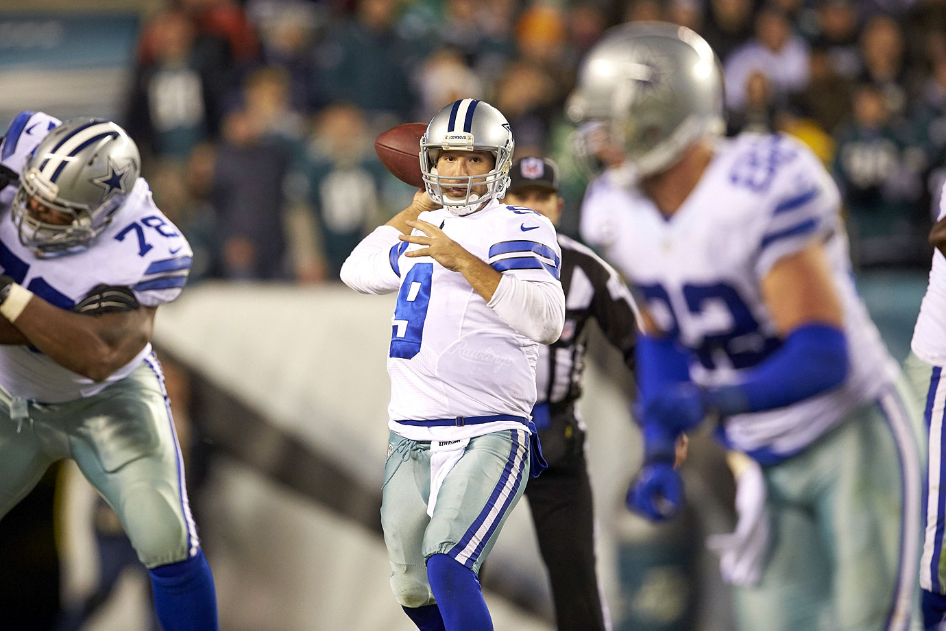 Romo has reduced the tendencies that once made him a boom-or-bust player. He's improved his interception rates over the last few seasons without losing his knack for the big play, which is how he led the NFL in 2014 in completion percentage (69.9%), touchdown percentage (7.8%), yards per attempt (8.5) and passer rating (113.2).