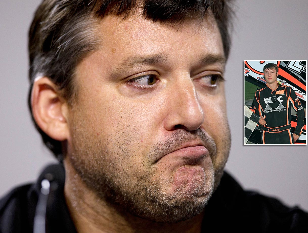 Tony Stewart accidentally kills Kevin Ward Jr. at Canandaigua Motorsports Park.