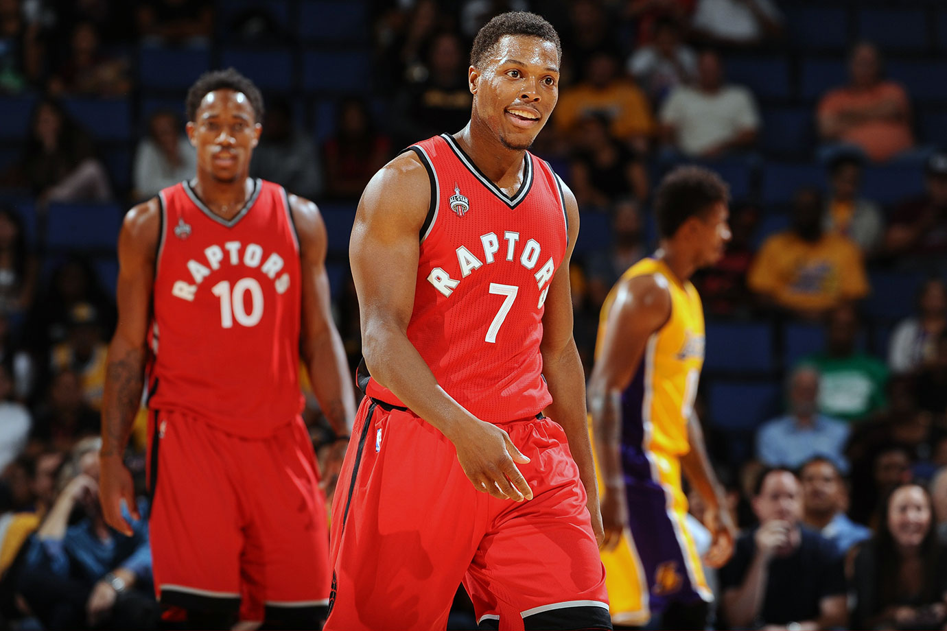 Kyle Lowry is in the best shape of his life, and as we all know, that's always the reason a team finally wins a championship.