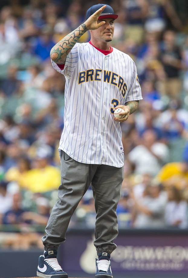 Aug. 9 at Miller Park in Milwaukee