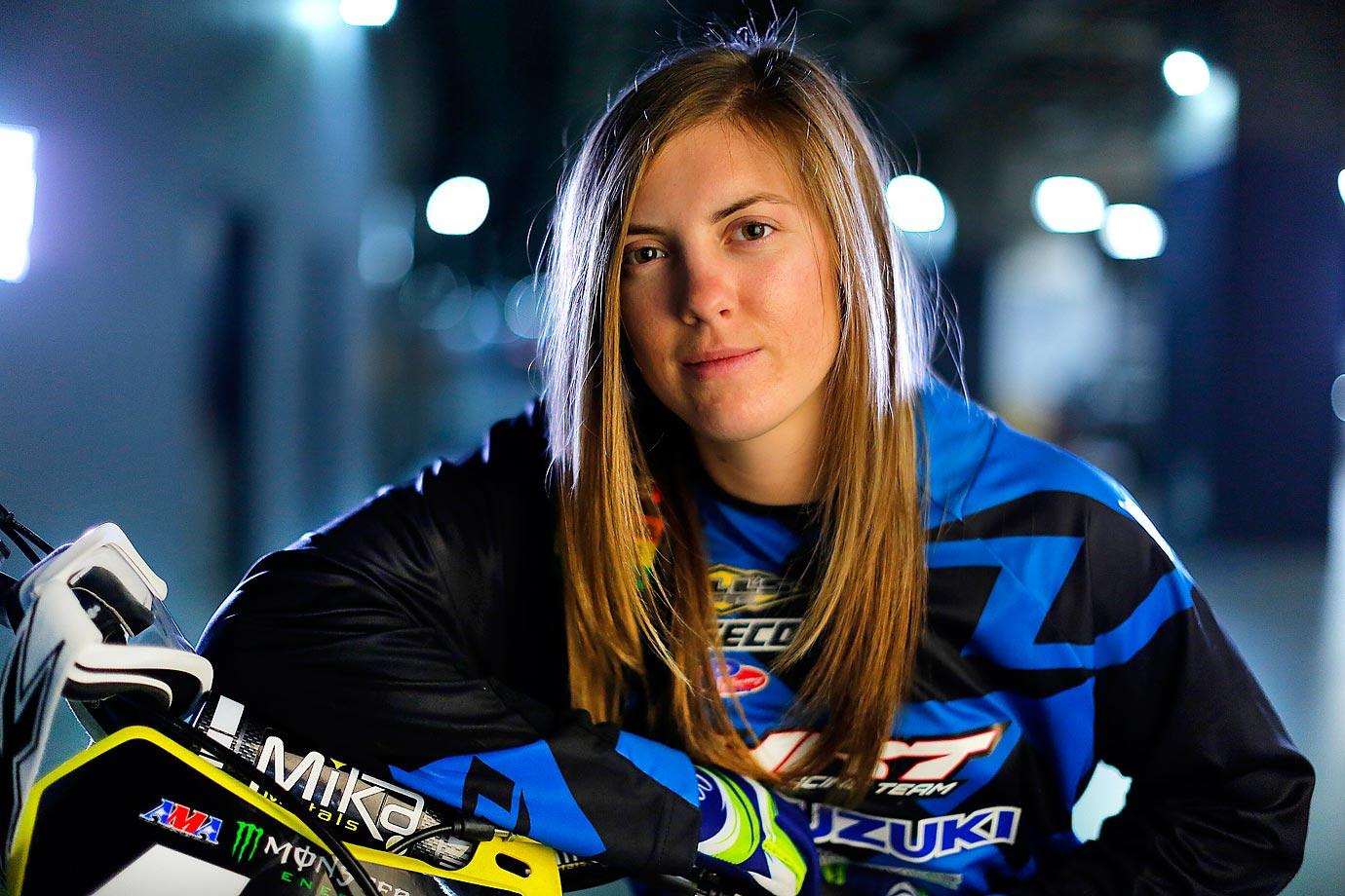 Vicki Golden prior to race day in Arlington, TX.