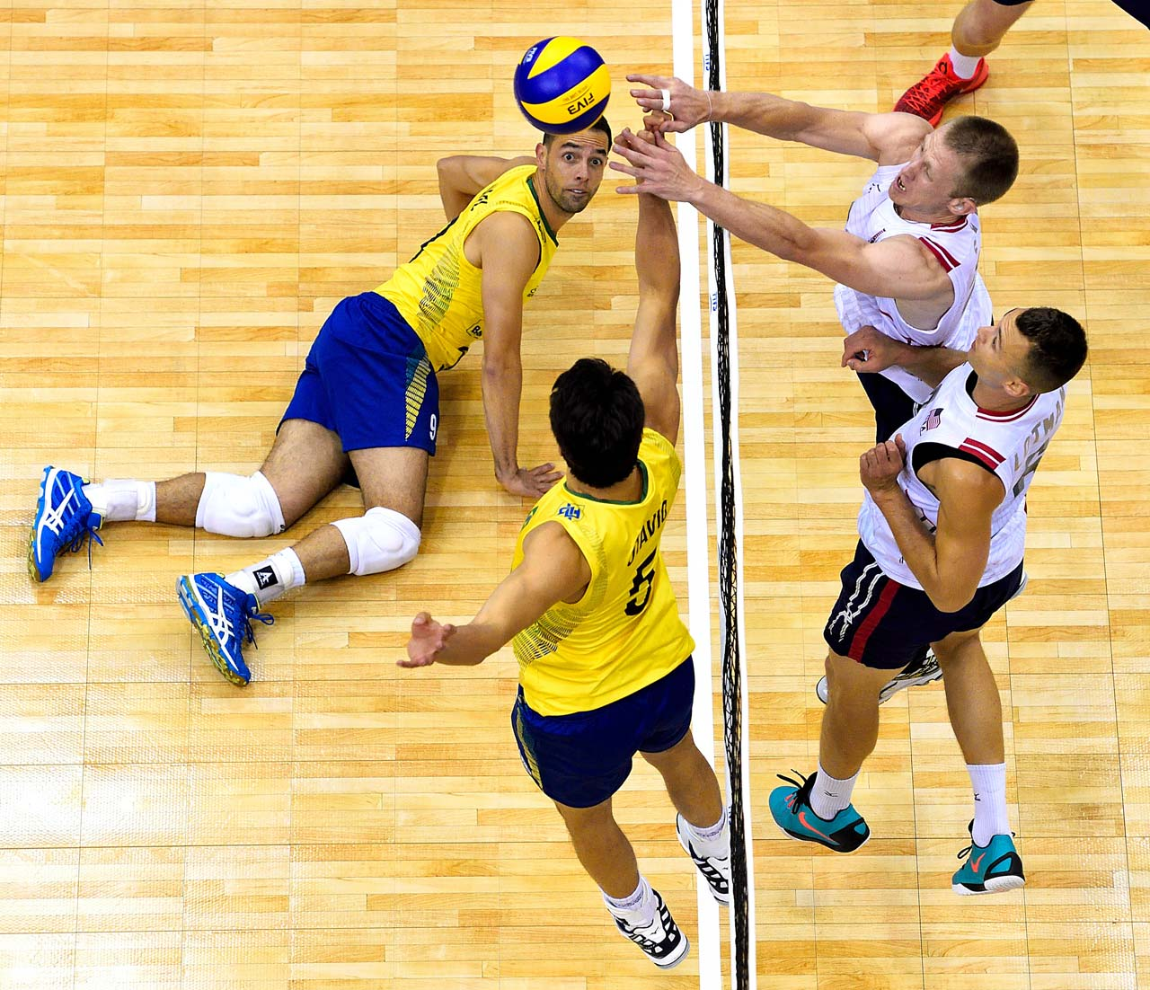 vs brazil volleyball