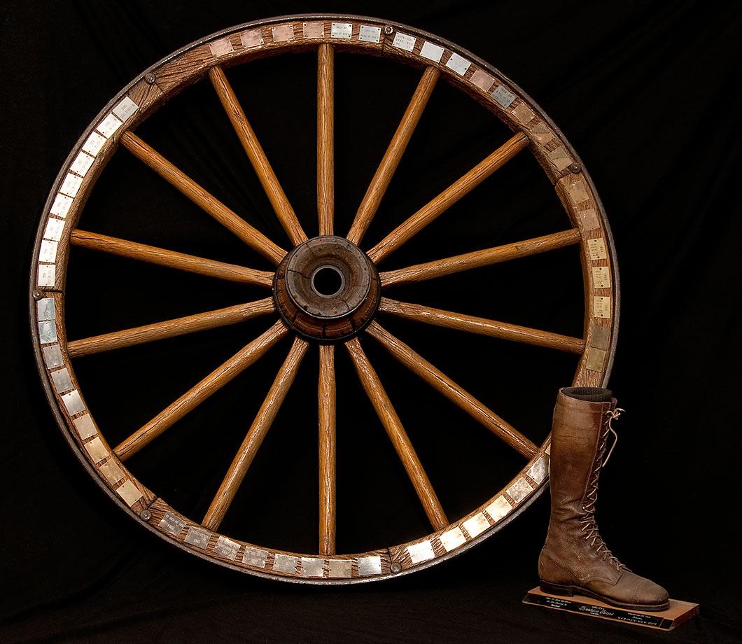 BYU vs. Utah State (Wagon Wheel) — BYU vs. Utah vs. Utah State (Beehive Boot)
