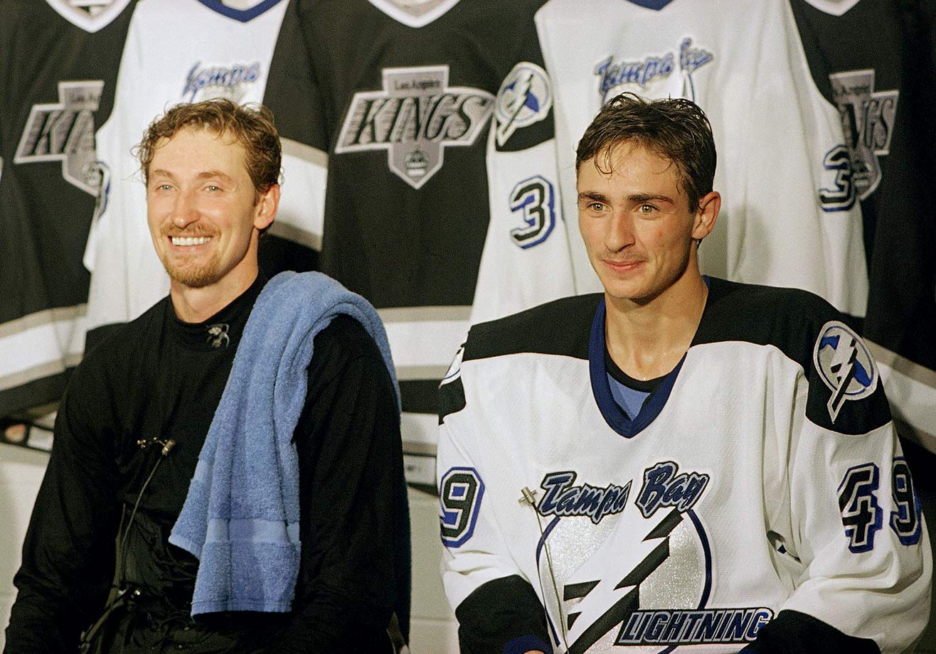 The NHL's all-time highest scoring brother duo torched the record book with combined career totals of 894 goals, 2,861 points, 10 scoring titles, nine Hart trophies, and four Stanley Cups. Of course, big brother Wayne did the bulk of the work. Brent, also a center, contributed a goal and three assists in 13 games for Tampa Bay from 1993 to '95 during a brief interruption of his 15 years in the minors and overseas.