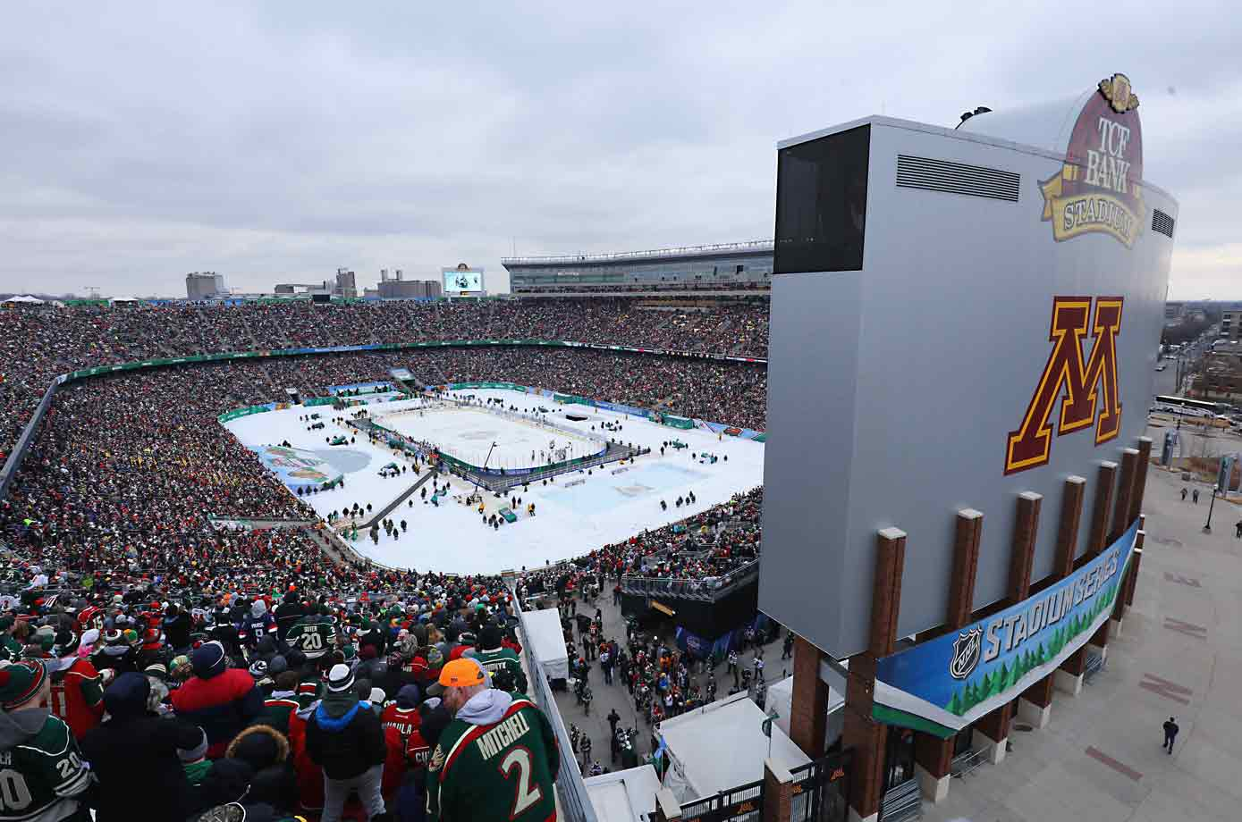 Since the NHL staged its first Winter Classic on Jan. 1, 2008 outdoor games have proved to be extremely popular with fans as well as players. Minnesota got its first on Feb. 21, 2016, a tilt against the Central Division rival Chicago Blackhawks at TCF Bank Stadium on the campus of the University of Minnesota.