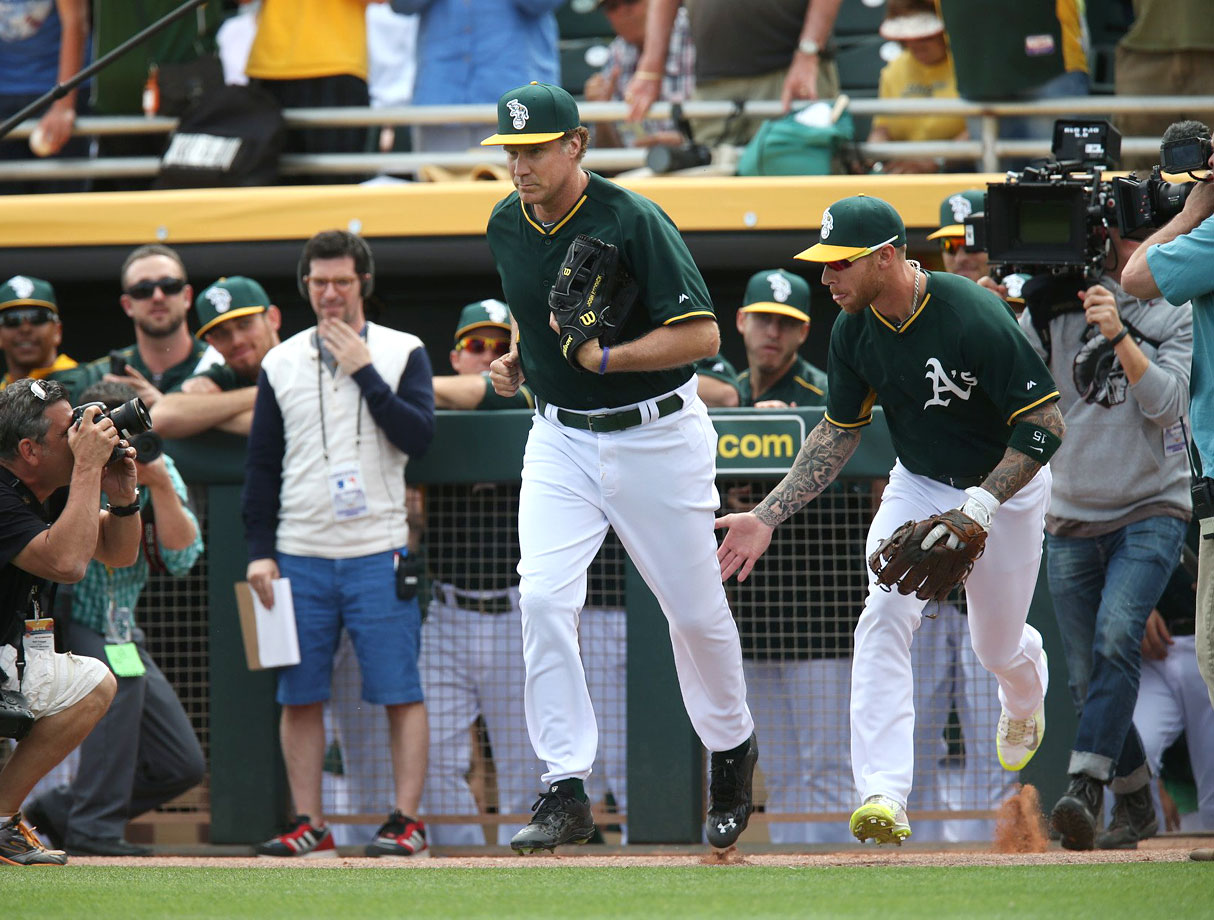 with third baseman Brett Lawrie