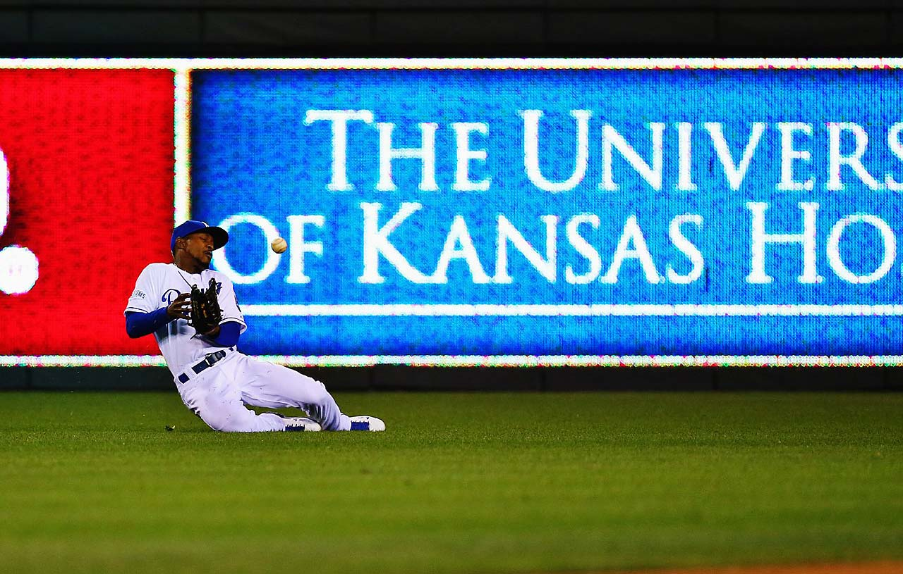 Fortunately for Dyson, the Royals got out of the inning without surrendering a run.