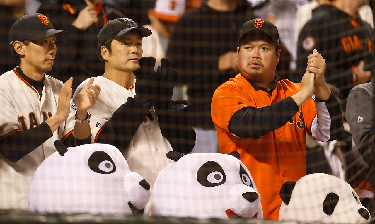 The Panda lovers were hoping to see a Giants victory but will have to wait to see how Game 4 turns out.