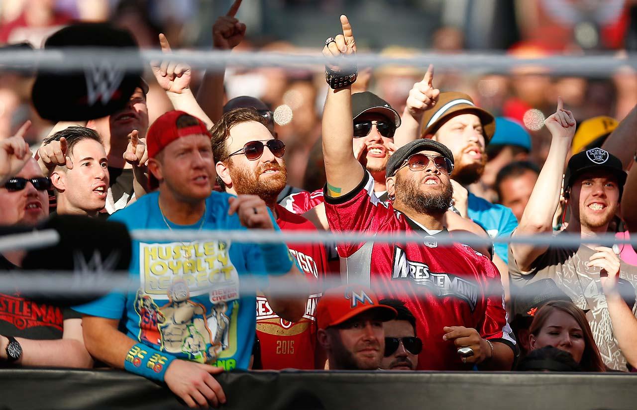 WrestleMania 31 fans