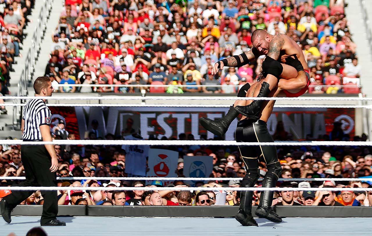 Randy Orton and Seth Rollins