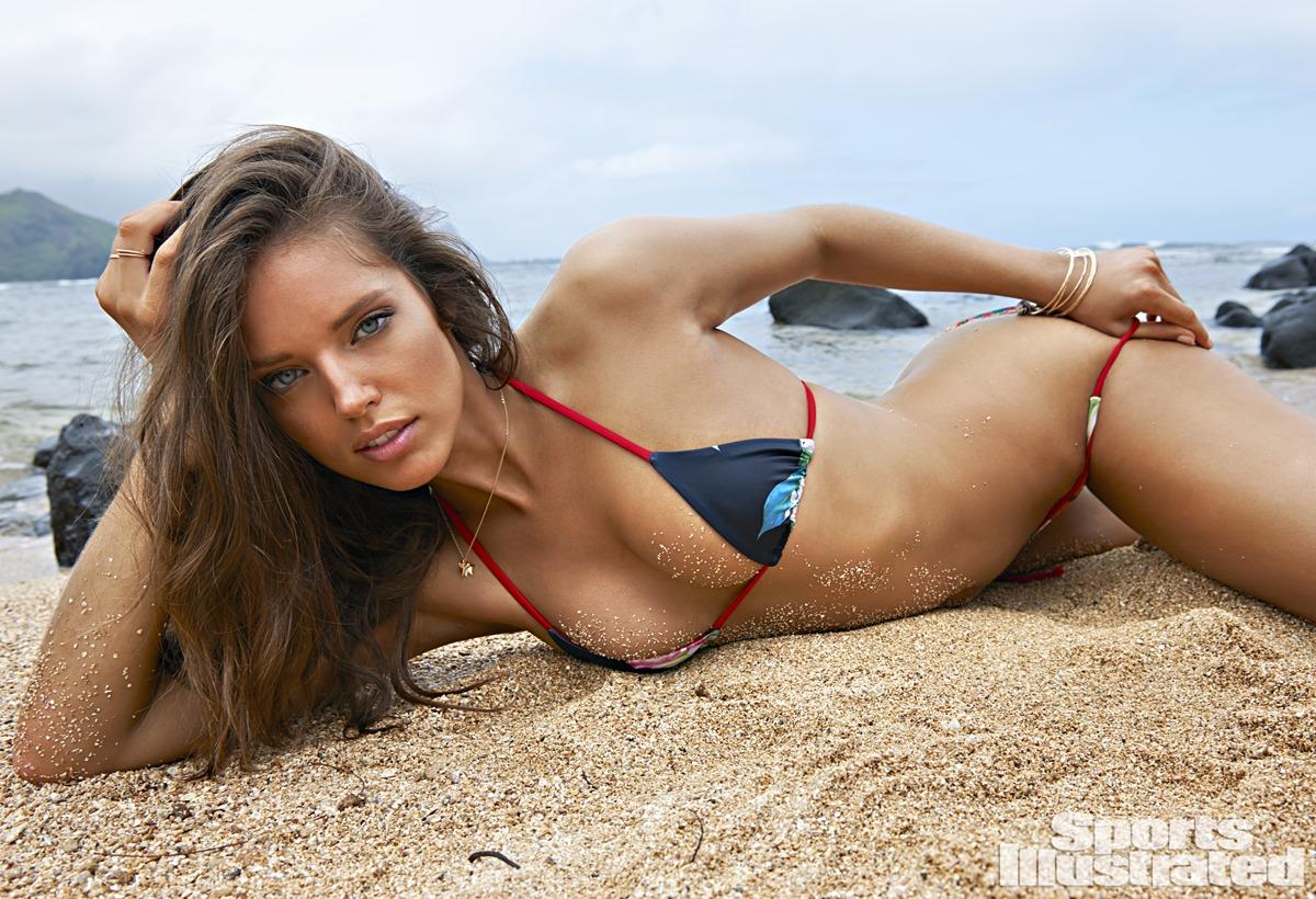 Emily DiDonato was photographed by Yu Tsai in Kauai.