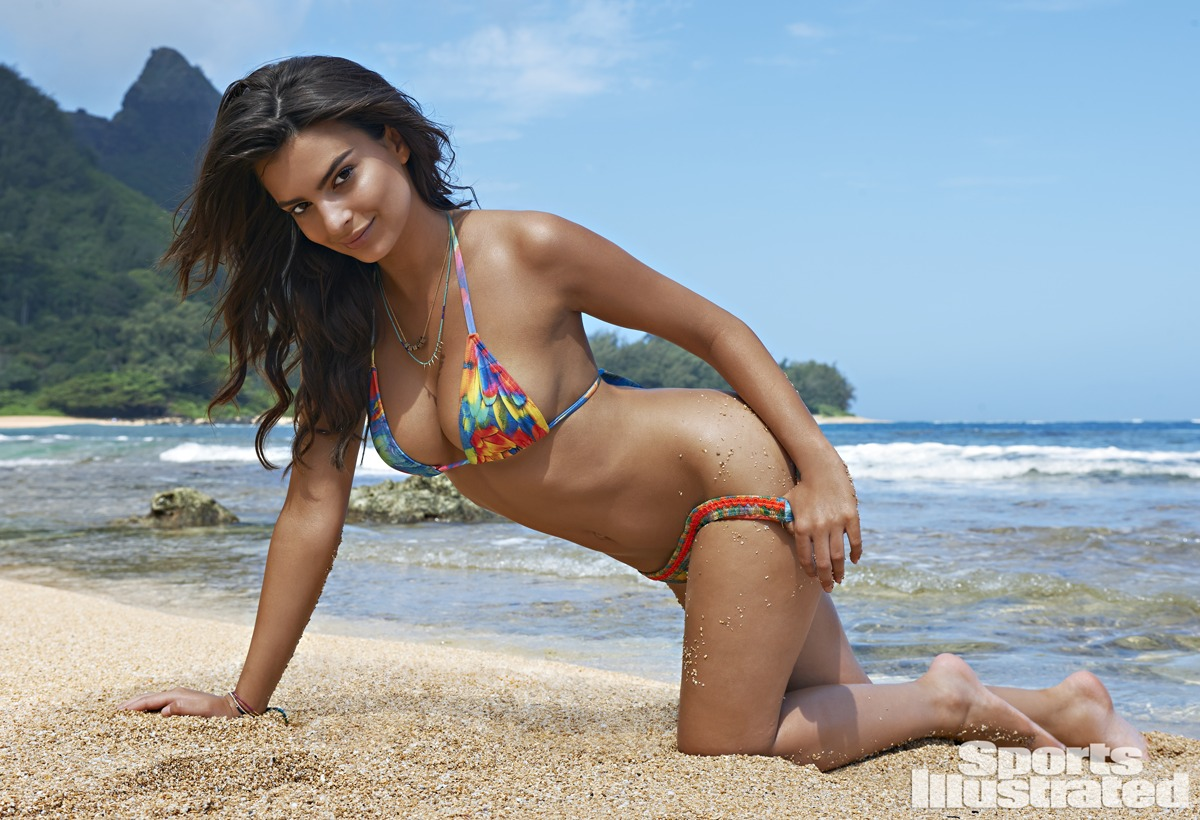 Emily Ratajkowski was photographed by Yu Tsai in Kauai.