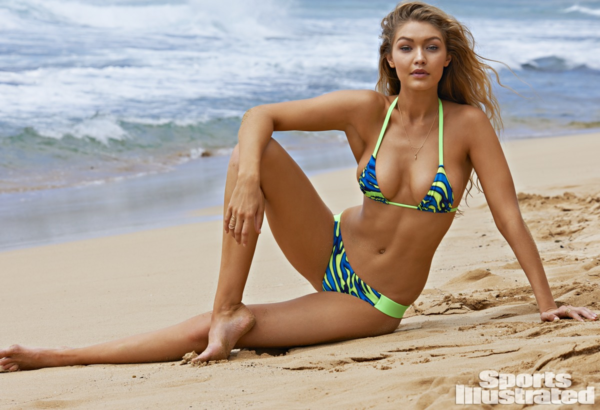 Gigi Hadid was photographed by Yu Tsai in Kauai.