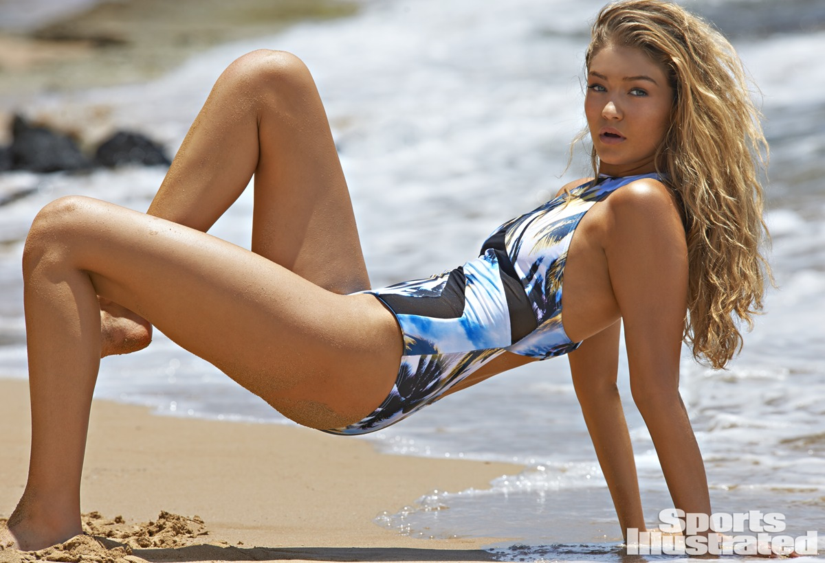 Gigi Hadid was photographed by Yu Tsai in Kauai.