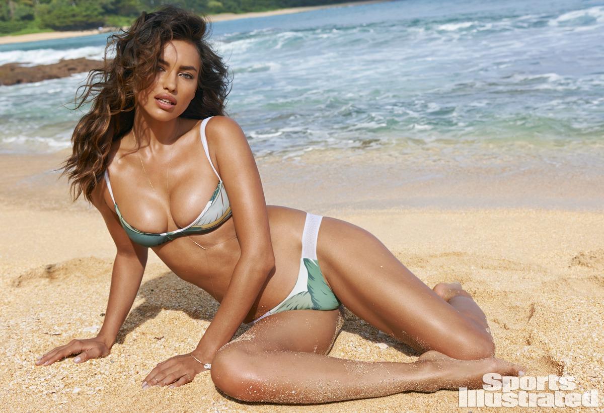 Irina Shayk was photographed by Yu Tsai in Kauai.