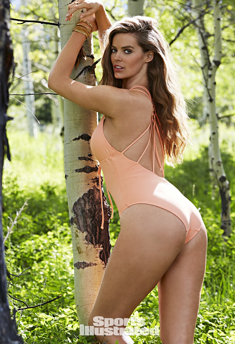 Robyn Lawley was photographed by James Macari in Grand Teton National Park, Wyoming.