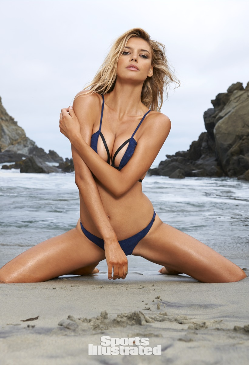 Kelly Rohrbach was photographed by Yu Tsai in Big Sur, California.