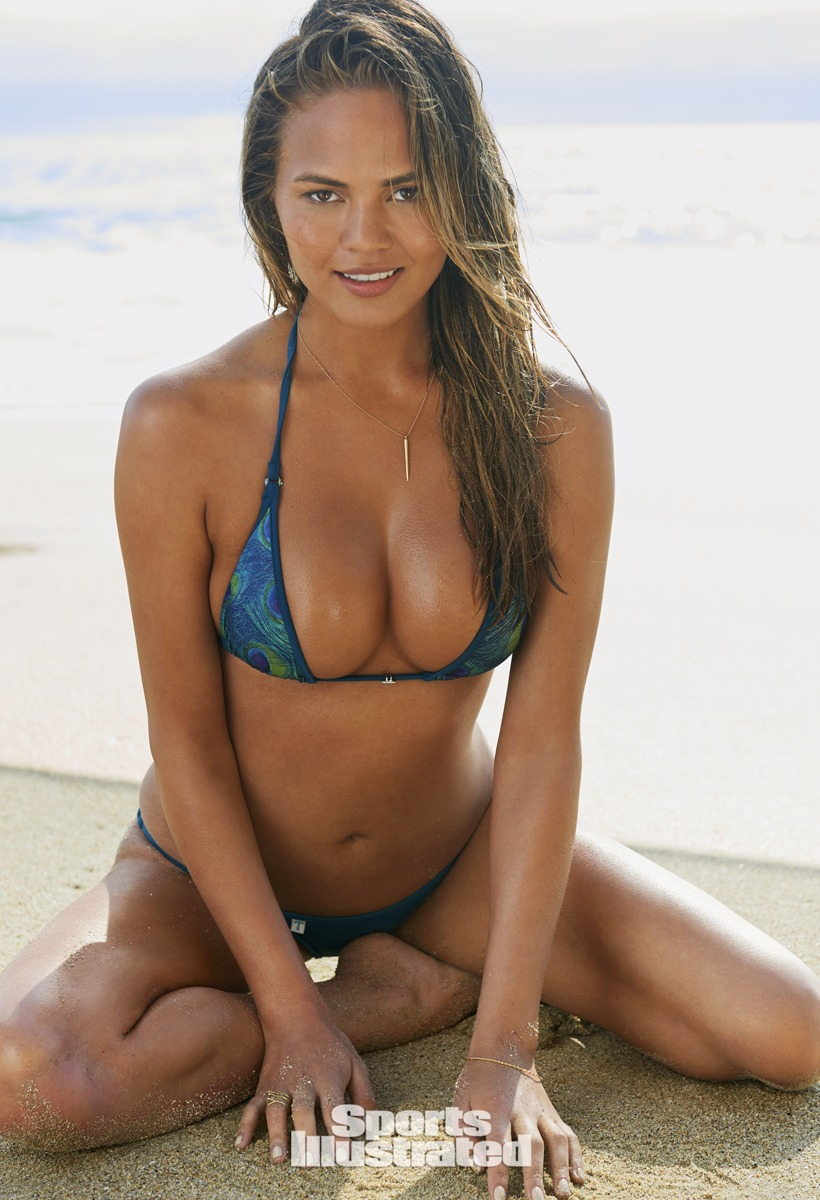 Chrissy Teigen was photographed by Yu Tsai in California.
