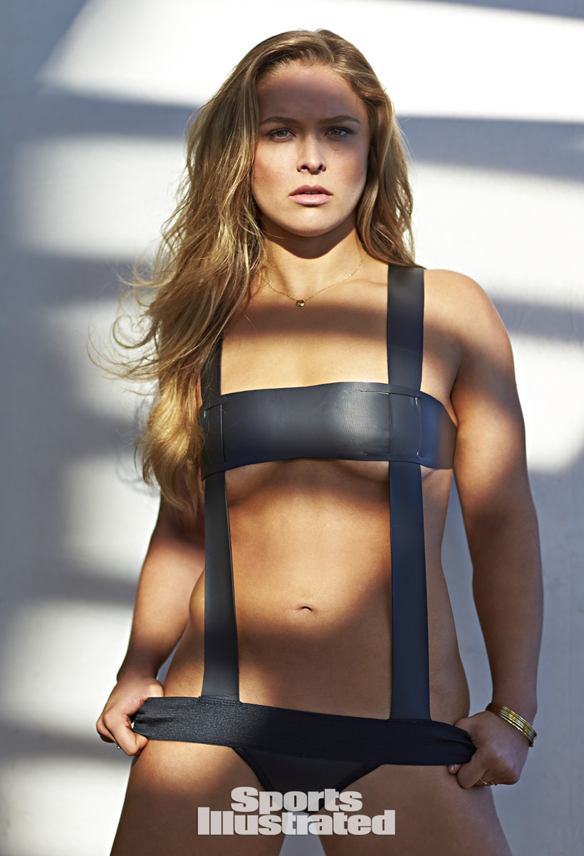Ronda Rousey was photographed by Walter Iooss Jr. in Captiva, Florida.