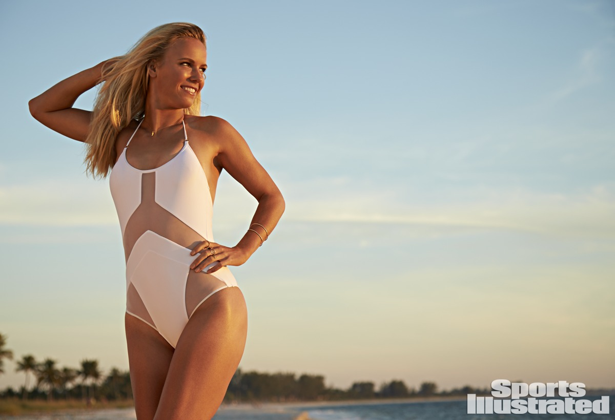 Caroline Wozniacki was photographed by Walter Iooss Jr. in Captiva, Florida.