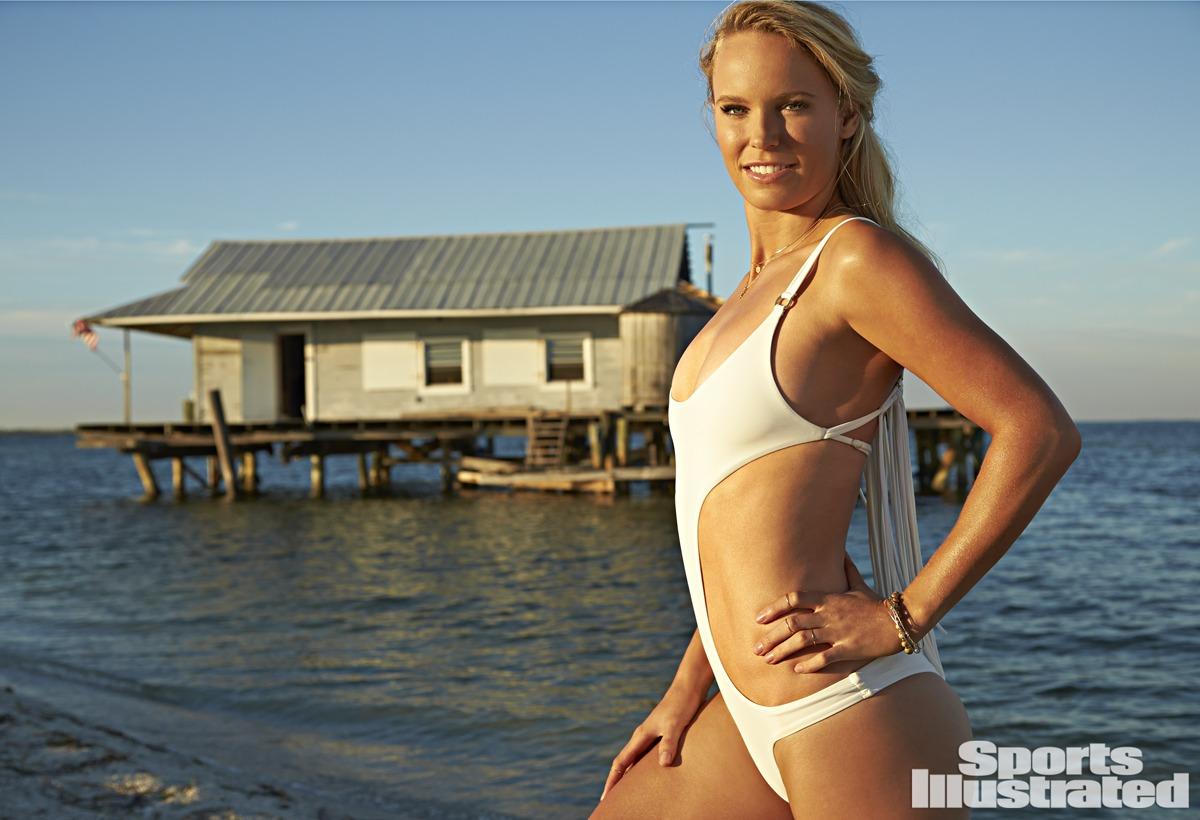 Caroline Wozniacki was photographed by Walter Iooss Jr. in Captiva, Florida.