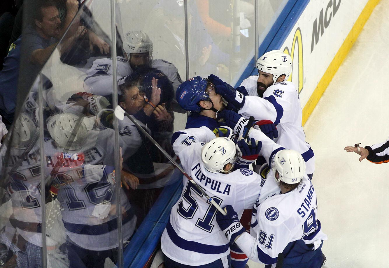 In the end, the Tampa Bay Lightning won Game 7 of the Eastern Conference final.