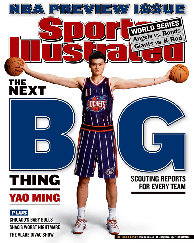 An 8.9% chance was enough for the Rockets to leapfrog four teams and win the Yao Ming sweepstakes. Yao was productive when healthy, but the healthy part didn't happen nearly as much as Houston would have hoped. The 7-6 center retired in July 2011 after nine seasons in which he averaged 19 points, 9.2 rebounds and 1.9 blocks.