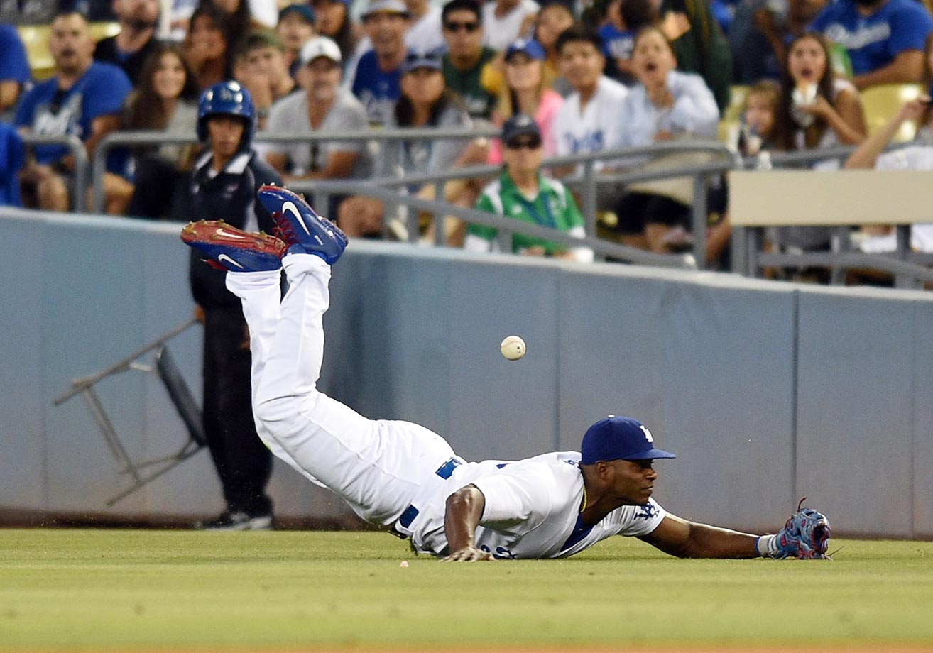 Yasiel Puig, July 29, 2015.