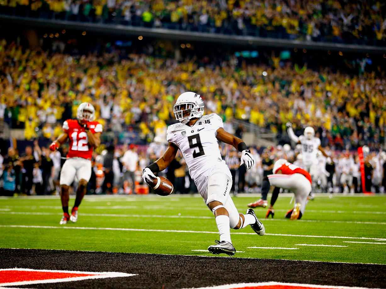 Byron Marshall could have cost his team a touchdown had he celebrated by dropping the ball too early.