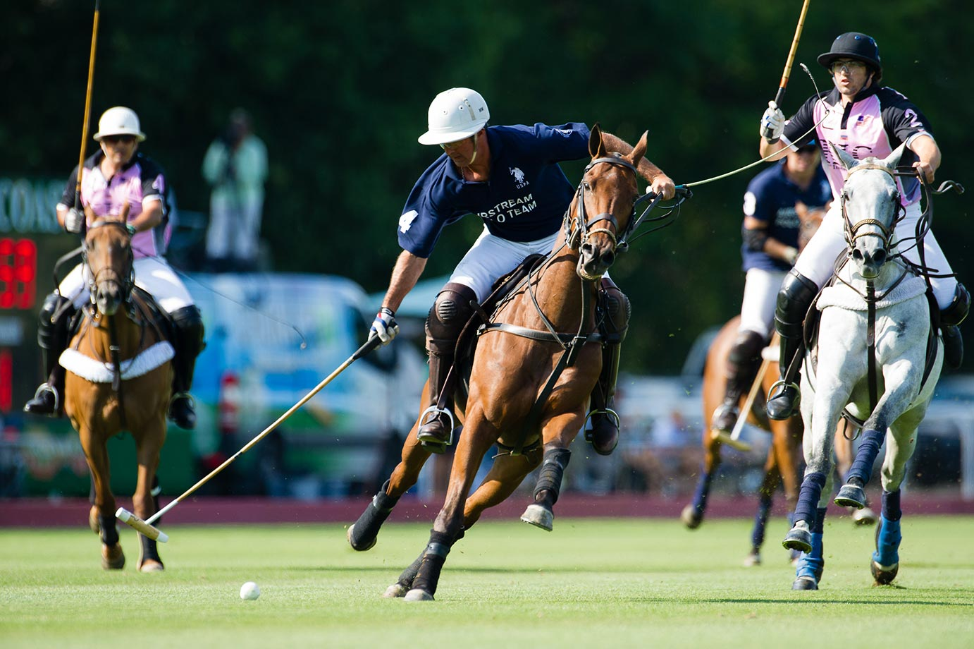 Matias Magrini 8 goaler and the Airstream Polo Team defeated the KIG Polo Team 13-11, enabling them to advance to the USPA and Greenwich Polo Club's 2015 East Coast Open Tournament's semifinals. Despite KIG's loss, it qualified for the semifinals as a result of McLaren's defeat of Turkish Airlines.