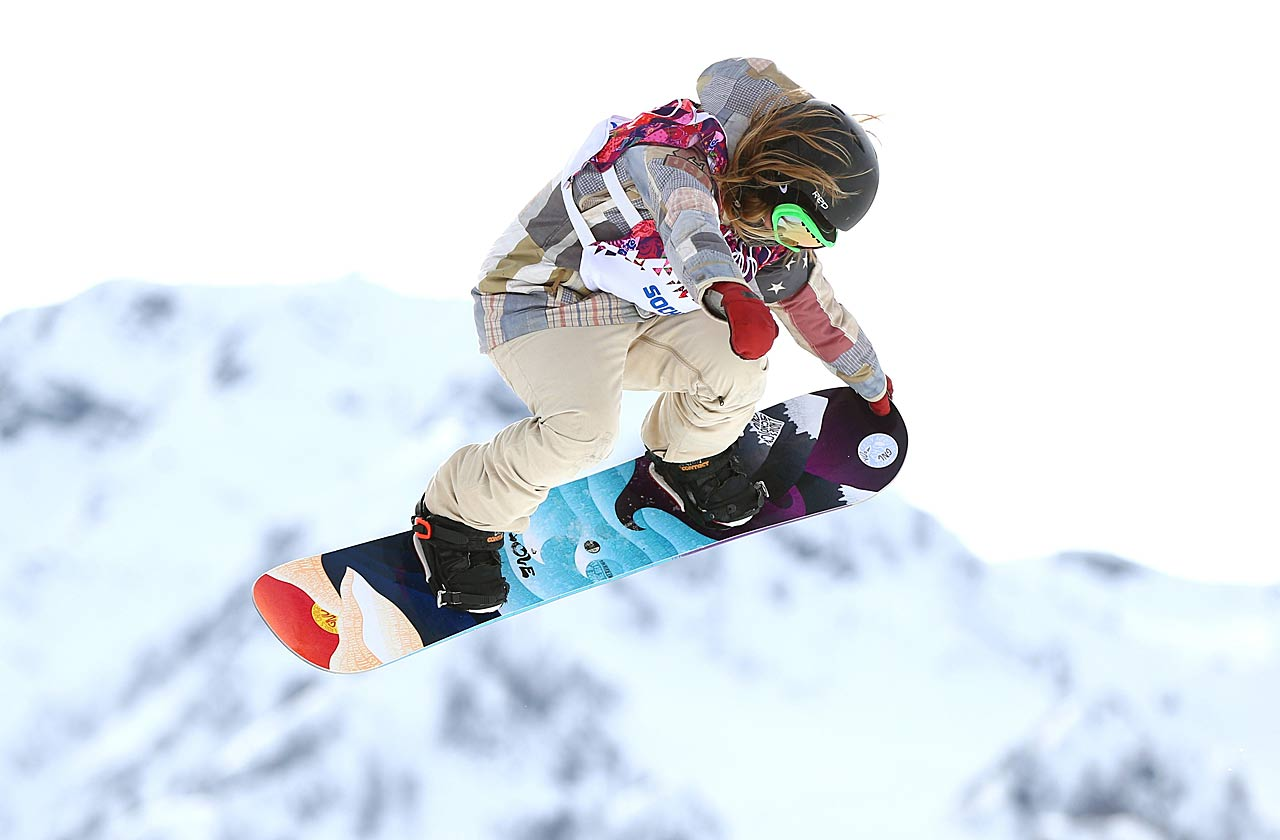 The slopestyle favorite heading into the Olympics, Jamie Anderson lived up to the billing.