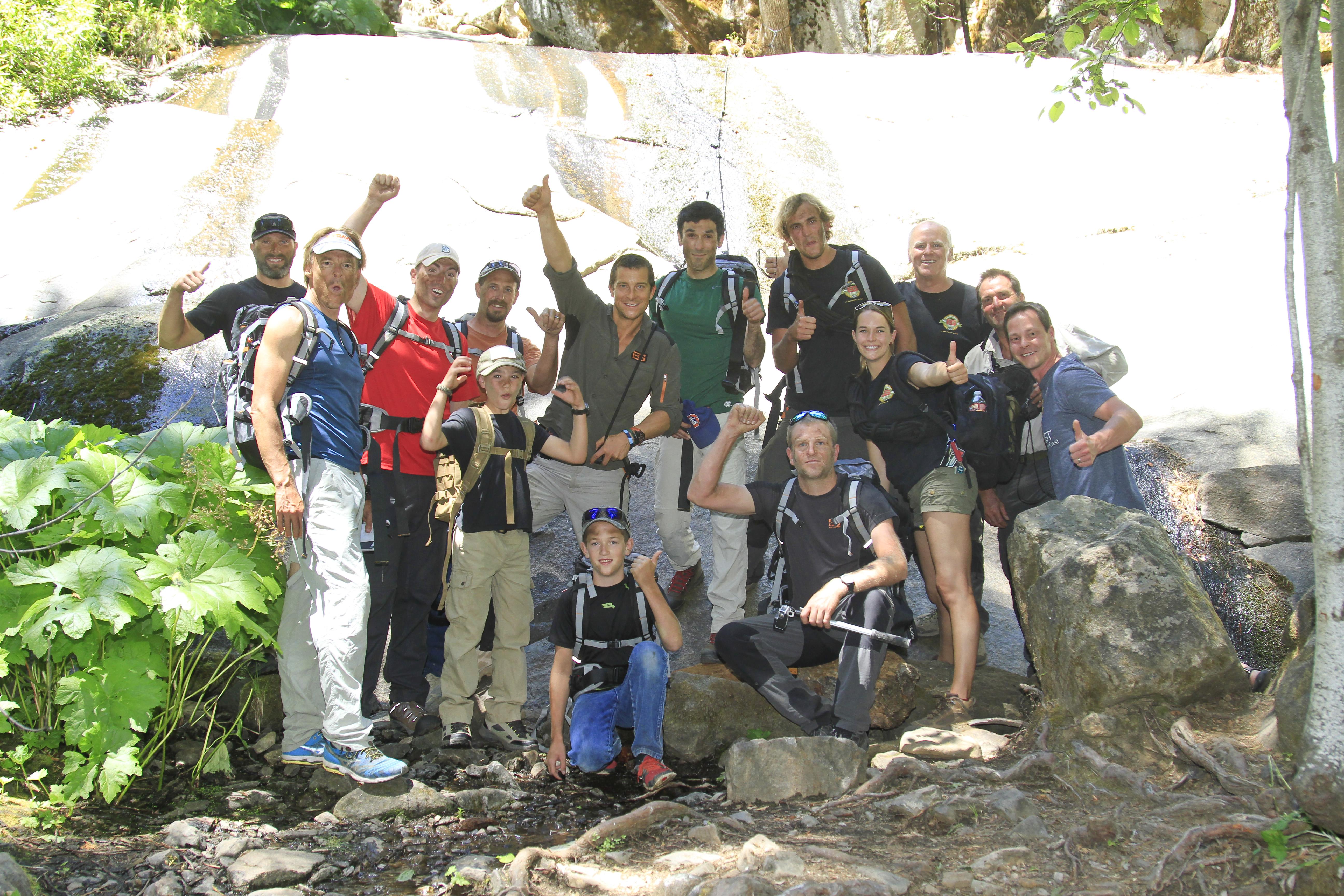 Going Wild at the Bear Grylls Survival Academy (Photos courtesy BGSA)