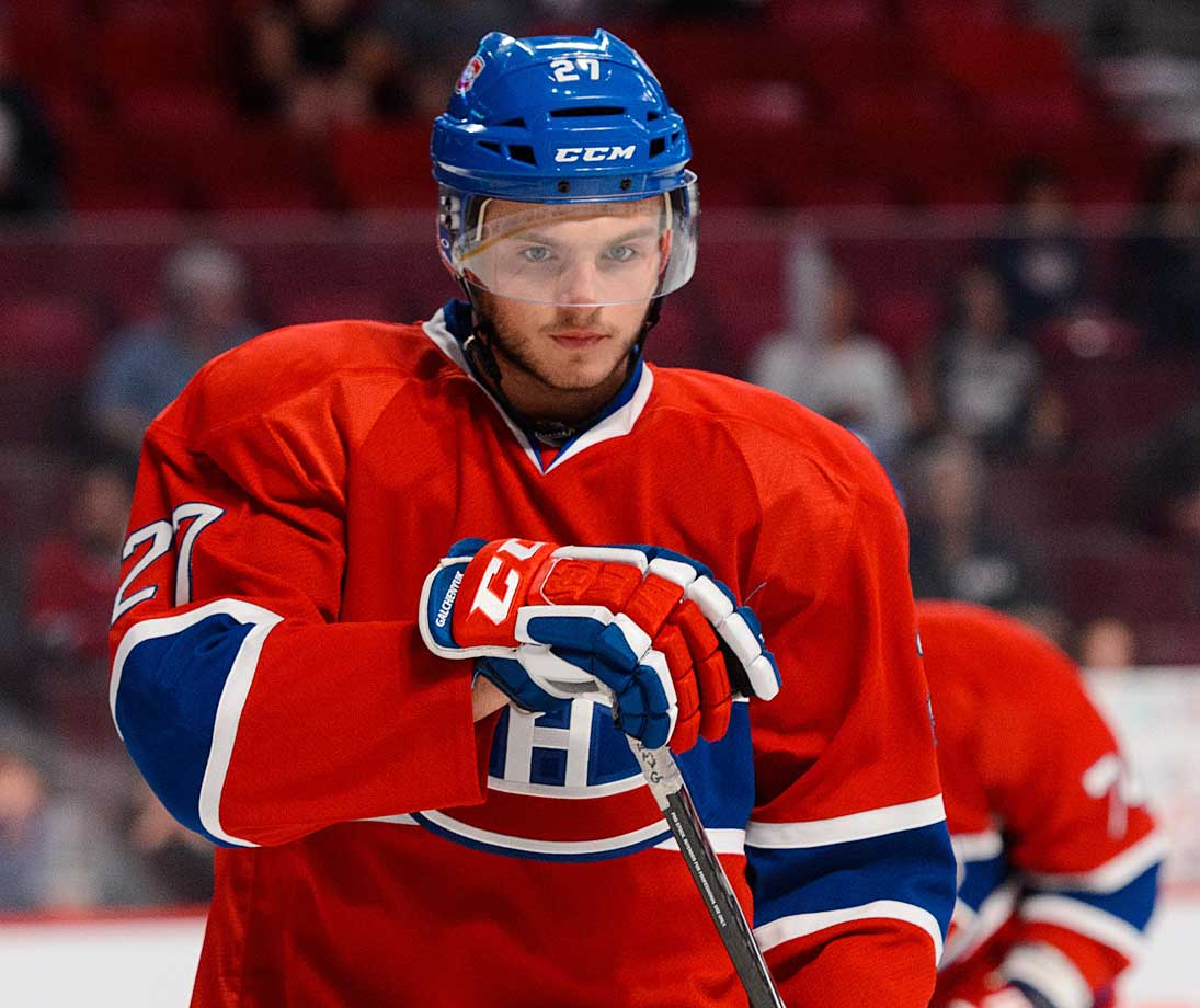 The No. 3 pick in the 2012 draft, the Canadiens' forward has shown flashes of promise in his brief career—like his seven points in his first four games last year, or his 12 points in 13 games at the end of the '12-13 season. If the 20-year-old Wisconsin native moves to center from the left wing, something Montreal's coaches toyed with during the preseason, he could see his production boom