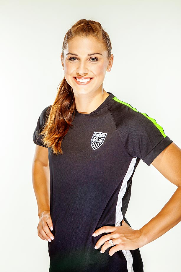 Alex Morgan Inside Uswnt Forward S Metoric Rise To The Top Si Com
