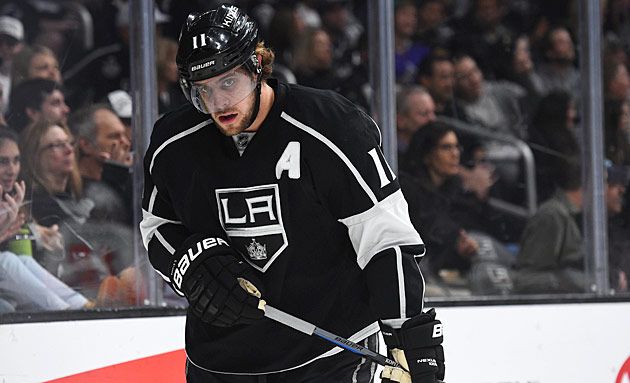 Searching for the Anze: Kopitar the Kings' usual top scorer is mired in a lengthy slump.