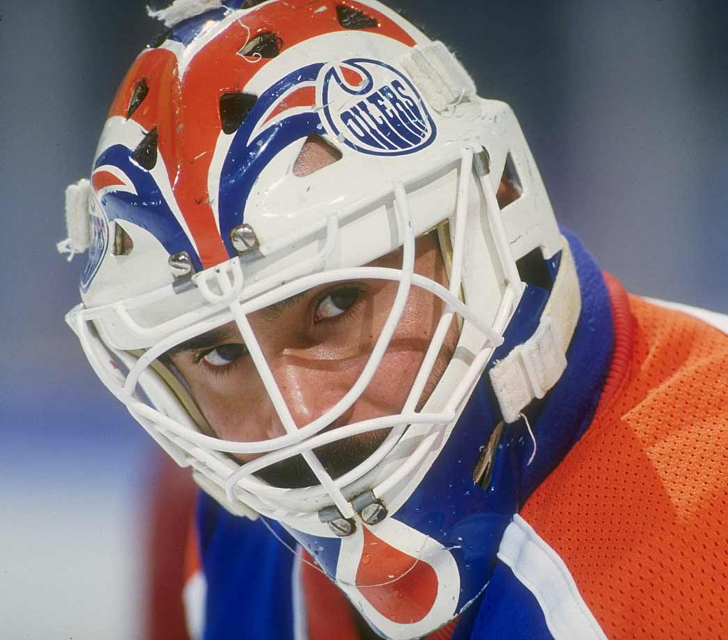 After coming out of a brief protest retirement, the Oilers' four-time Stanley Cup winning netminder complained of stomach pains during training camp in September and was examined by teammate Randy Gregg, who was also a licensed physician. Fuhr needed an emergency appendectomy and missed five-and-a-half weeks. He eventually played in 59 games that season and his career continued until 2000.